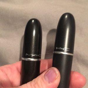 2 Full Size MAC Lipsticks